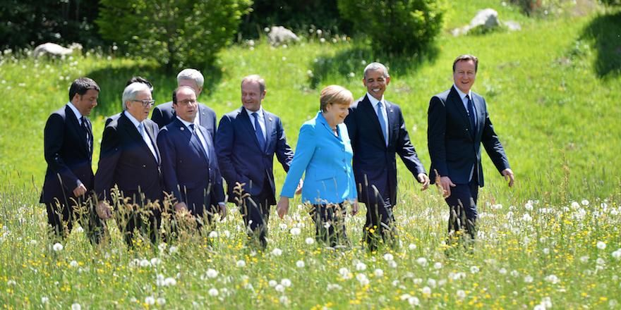Komentarze dotyczące szczytu G7