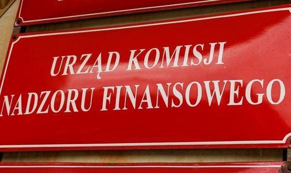 Komisja Nadzoru Finansowego- KNF