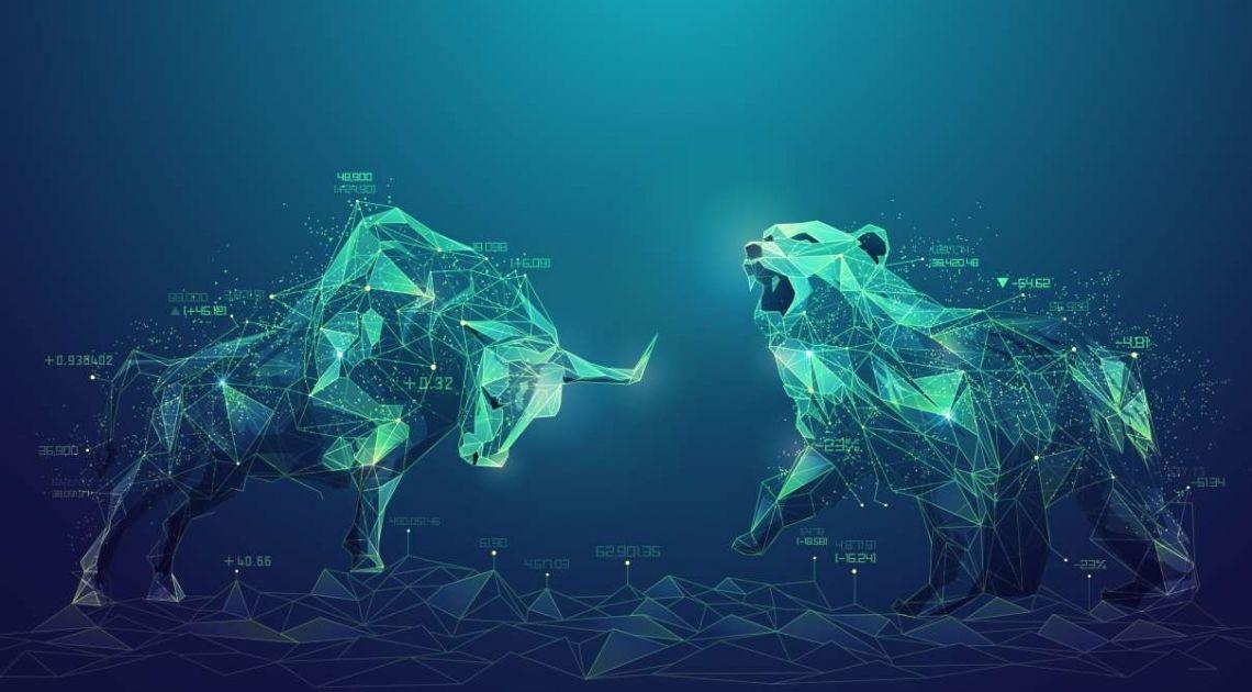 Kontrakty terminowe na WIG20. Kto wybije trójkąt? Byki czy Niedźwiedzie?