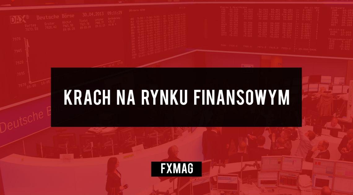 Krach na rynkach finansowych - Czy Powell z Trumpem doprowadzą do krachu?