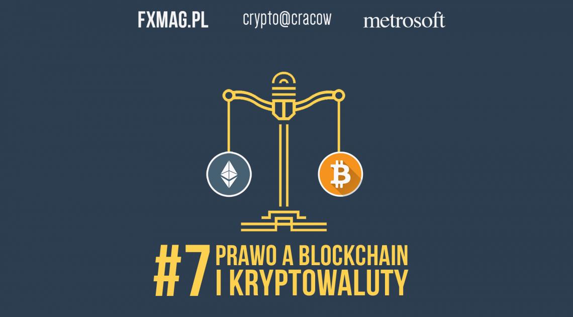 Prawo a kryptowaluty - oglądaj relację Live z Crypto@Cracow!