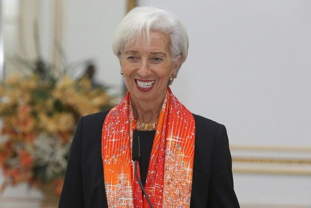 kryptowaluty Christine Lagarde