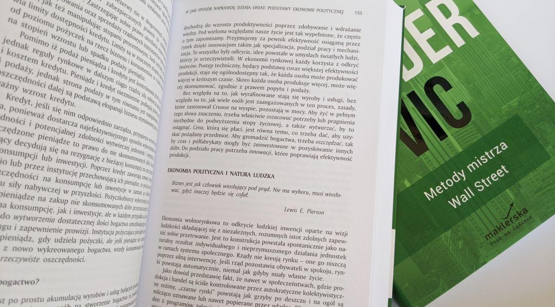 """Książka, która może odmienić twoje inwestycje! Nowe wydanie """"Trader Vic -  Metody Mistrza Wall Street""""  Victora Sperandeo"""