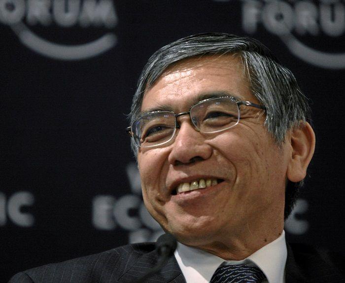 Kuroda w japońskim parlamencie - nie myślimy o ujemnych stopach procentowych