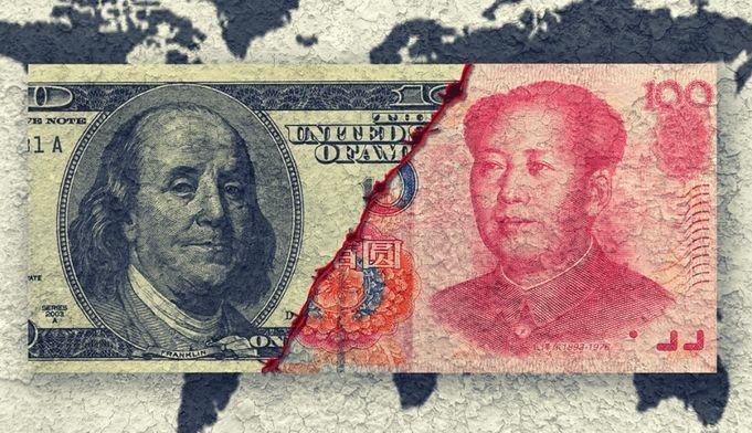 Kursy walut - WYKRES TYGODNIA: USD/CNH barometrem wojen handlowych?
