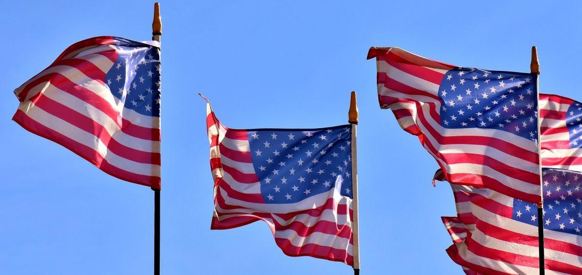 flagi usa ameryka