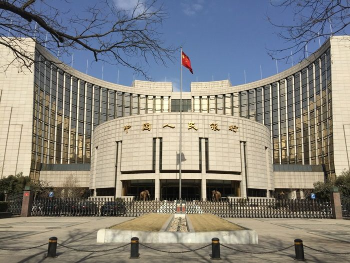 Ludowy Bank Chin pompuje gotówkę w rynki
