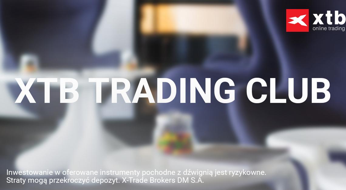 Łukasz Stefanik na XTB Trading Club