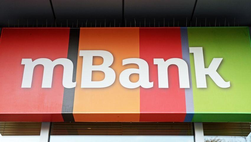mBank z niższymi przychodami i znacznie wyższym zyskiem