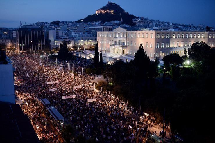 Niepokoje w Grecji