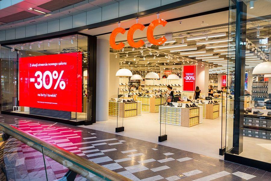 Notowania giełdowe spółki CCC z 17% wzrostem