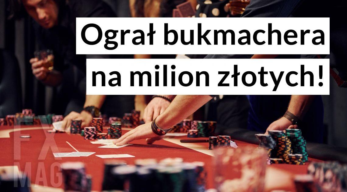 Ograł bukmachera na ponad milion złotych! Wykluczony z dalszej gry pozywa Fortunę na 60 mln zł. Zobacz, za co!