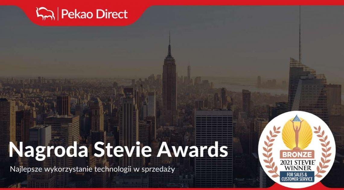 Pekao Direct z nagrodą Stevie Award - informacja prasowa