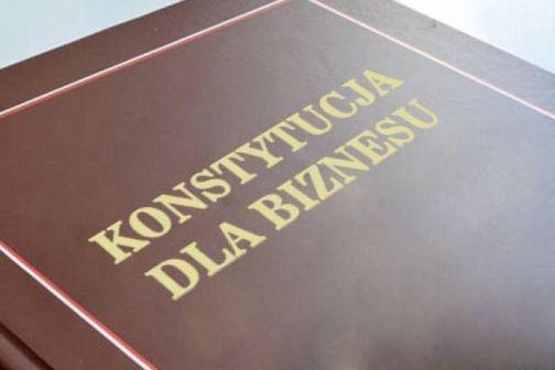 """Perspektywy dla przedsiębiorców w świetle pakietu zmian """"Konstytucja dla biznesu"""""""
