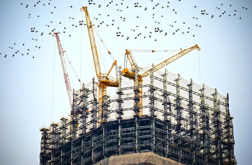 PMI dla brytyjskiego sektora budowlanego gorszy od oczekiwań.