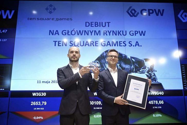Ten Square Games debiut GPW spółka