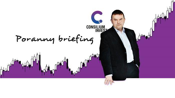 Poranny Briefing - główne pary i ropa WTI [WIDEO]