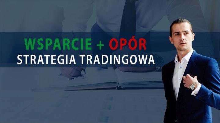 Poznaj prostą strategię tradingową - wsparcia i opory [WEBINAR]