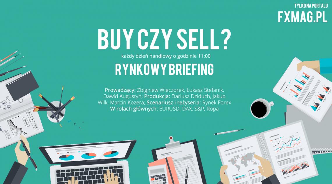 Rynkowy Briefing - pary walutowe EURUSD, USDCAD oraz indeks DAX - 24.10.2016 [WIDEO]