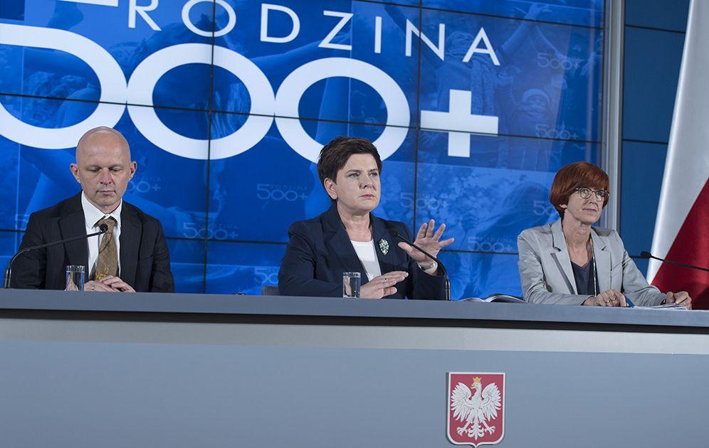 Słabe dane z Polski - efekty programu 500+ słabną?