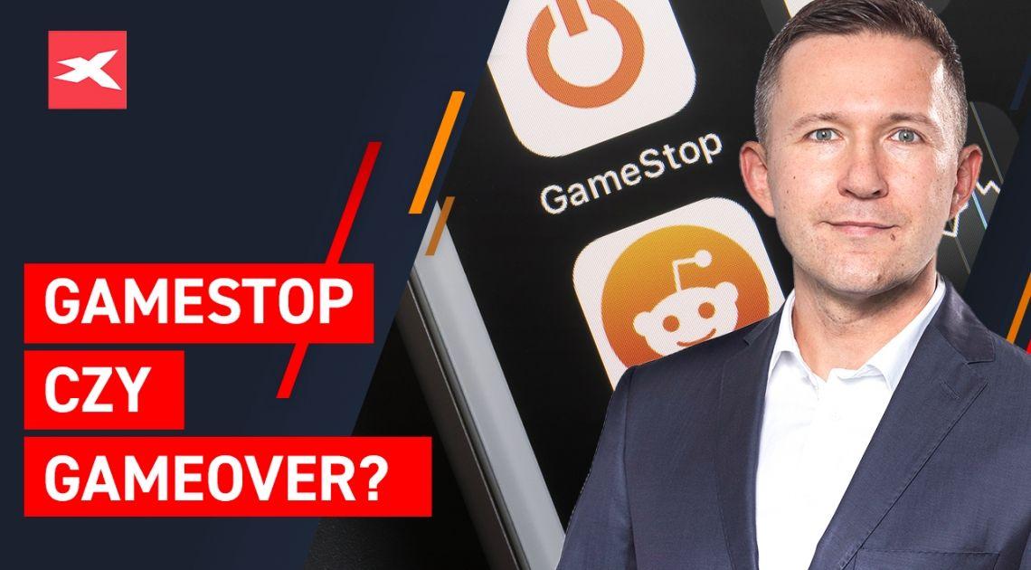 Szaleństwo na akcjach Gamestop niepokoi szeroki rynek. GameStop czy GameOver? Srebro nowym GME?