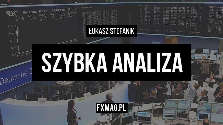 Szybka analiza - EUR/USD, DAX,  | 8 stycznia