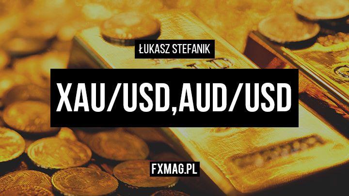 Szybka analiza video - XAU/USD i AUD/USD [25 października]
