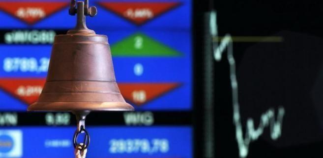 Trzeci tydzień spadków na polskiej giełdzie