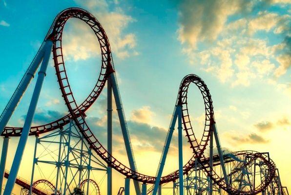 Cena złota (1.550,00 dolarów) i ropy ( 60,00 dolarów) jak na rollercoasterze na początku roku!