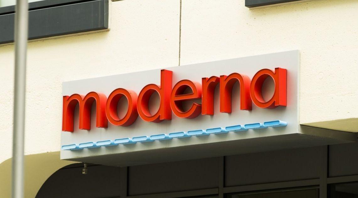 Wczorajsze notowania giełdowe spółki Moderna zakończone ponad 9 procentowym wzrostem