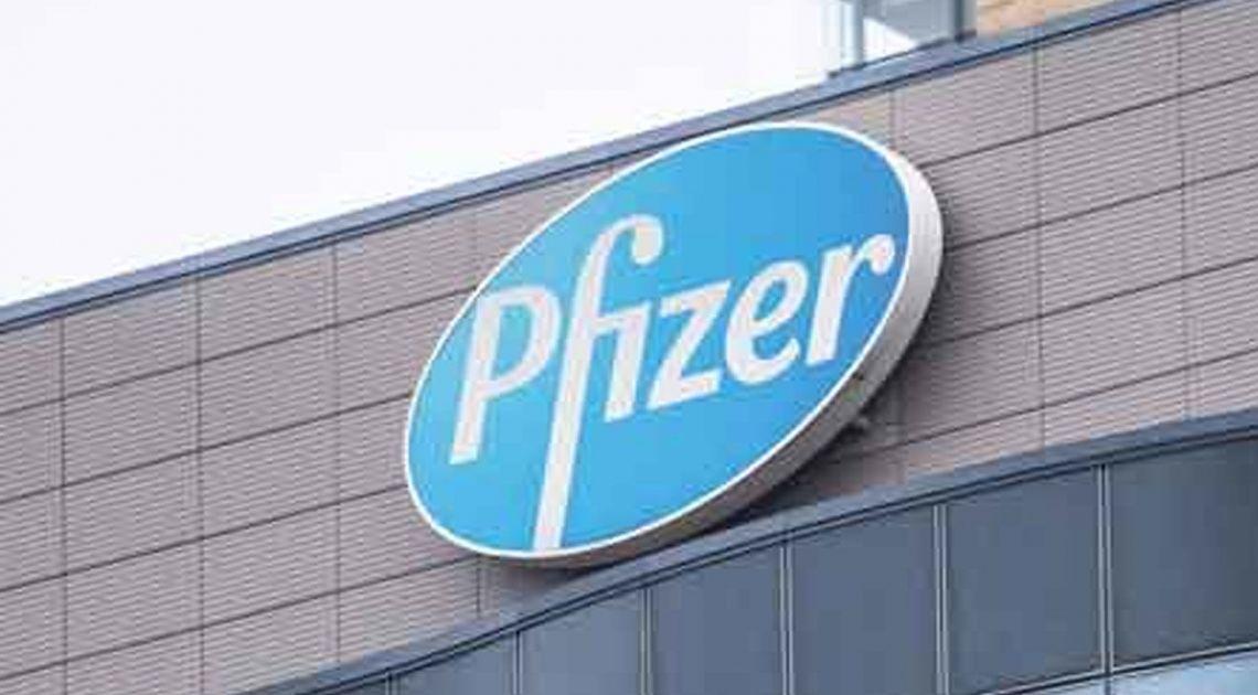 Wczorajsze notowania giełdowe spółki Pfizer zakończone 4 procentowym wzrostem