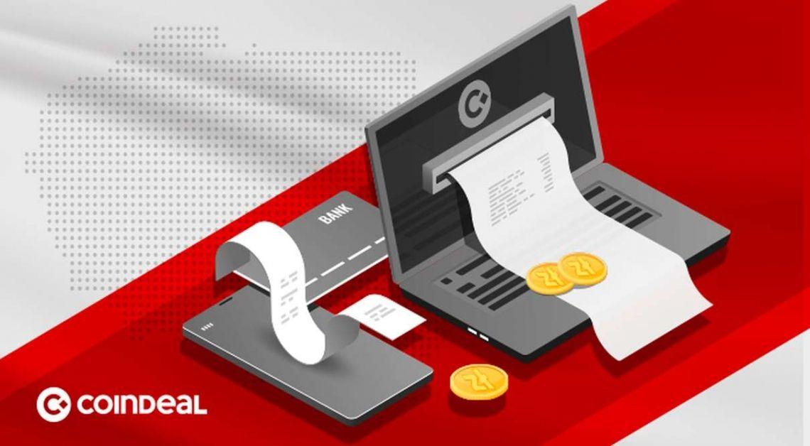 Wpłacaj i wypłacaj  polskie złote PLN, dolary USD, euro EUR, funty GBP, franki CHF! CoinDeal oferuje najwięcej możliwości transakcji walut FIAT na rynku!