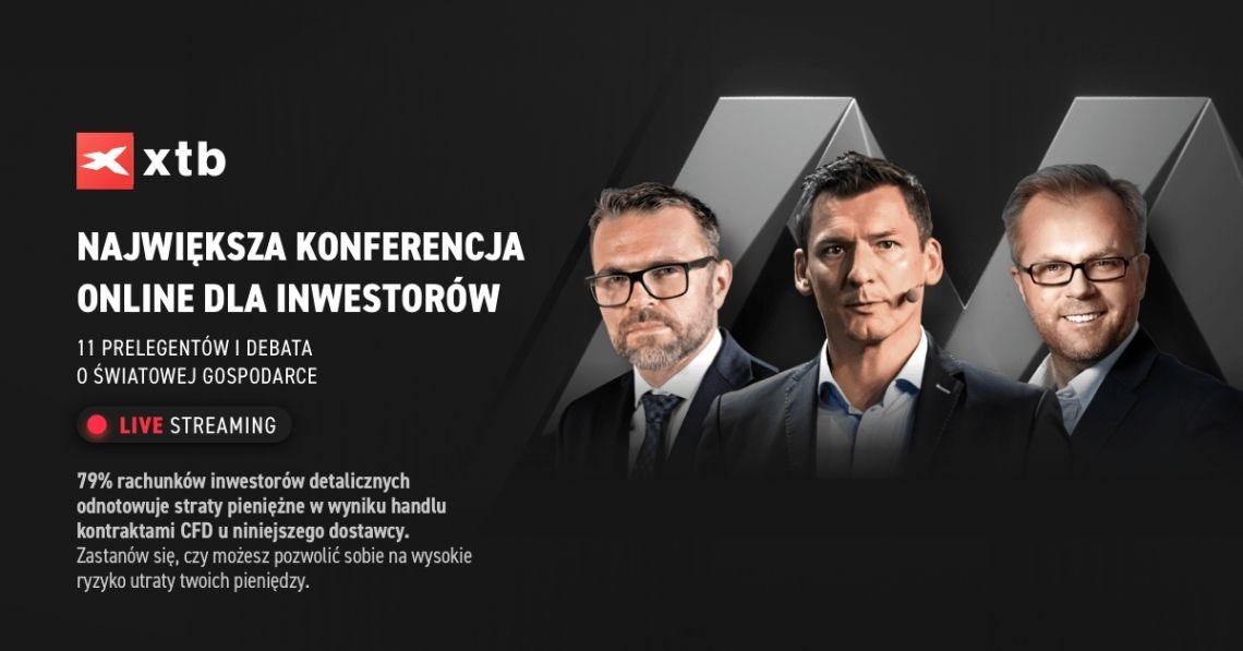 XTB TRADING MASTERCLASS 2020. Największa konferencja online dla inwestorów!