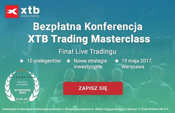 XTB Trading Masterclass - ostatnie miejsca!