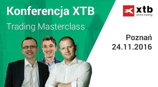 XTB Trading Masterclass - zapisz się na szkolenie w Poznaniu