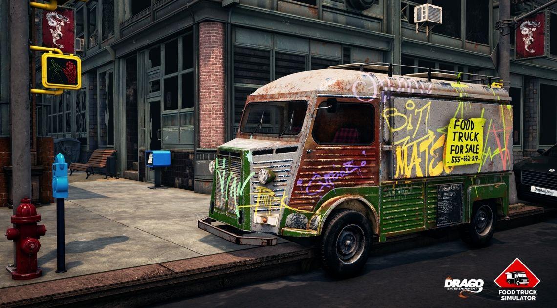 Zapowiedź Food Truck Renovation dostępna w serwisie Steam