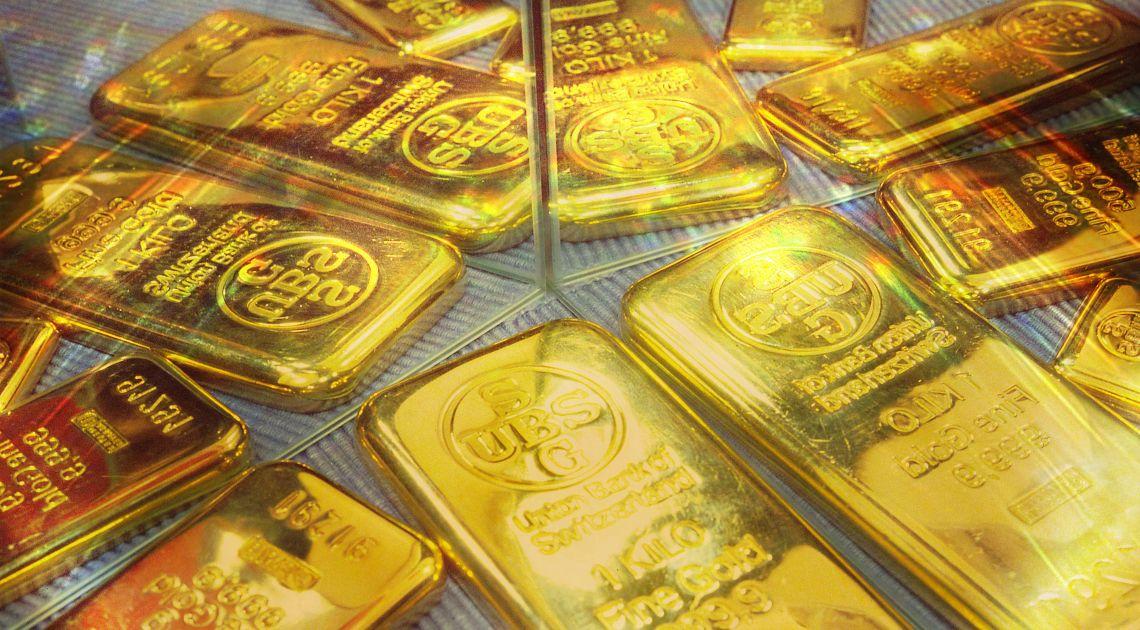 Złoto trzyma układ Overbalance