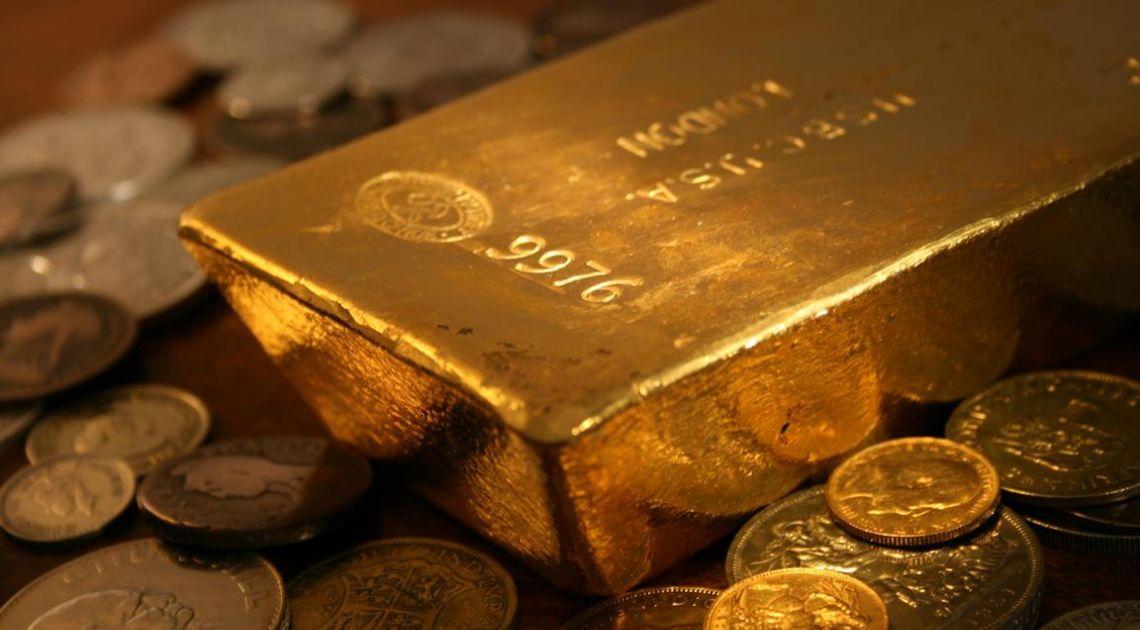 Złoto w górę pomimo spadku awersji do ryzyka