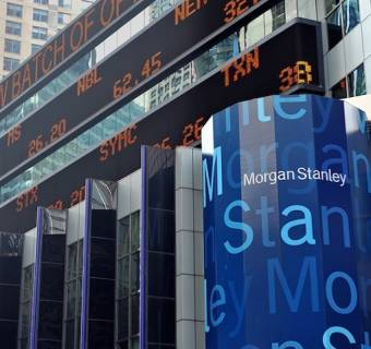Bank Morgan Stanley prezentuje wyniki kwartalne