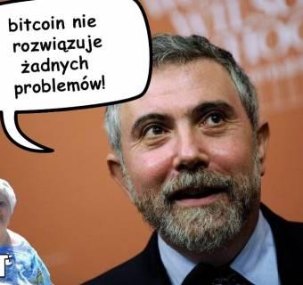 Bitcoin niszczy 300 lat rozwoju finansów? Krótka polemika z noblistą