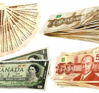 Kurs dolara kanadyjskiego zyskuje na wartości (USD/CAD). W tle dane dotyczące PKB Kanady