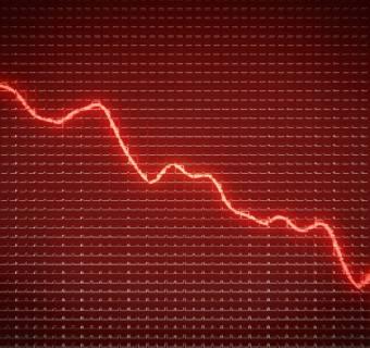 Panika na warszawskiej giełdzie! WIG20 traci niemal 10%, rynek na czerwono