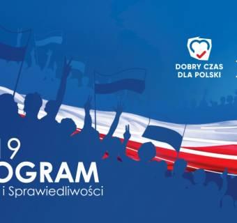 PiS i jego program wyborczy na wybory parlamentarne 2019. Obietnice ekonomiczno-gospodarcze