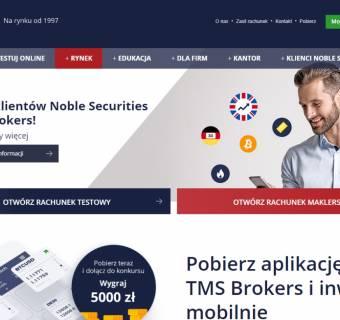 TMS Brokers przejmuje zorganizowaną część przedsiębiorstwa Noble Securities. Jak wyglądać będzie przeniesienie rachunków?