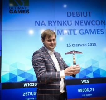 Ultimate Games z licencją na 8 nowych gier i certyfikatem od Nintendo. Kurs reaguje