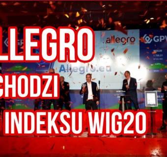 Wiemy ile akcji właściciele Allegro sprzedali od debiutu. Sprawdź, ile na tym zarobili
