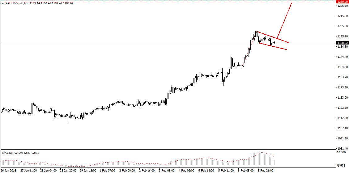 FXMAG forex kolejne wzrostowe setupy na rynku złota 2